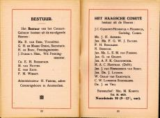 De Haagse Mengelbergconcerten, brochure