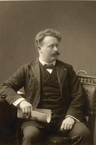 Willem Mengelberg c. 1900