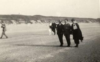 Arnold Schönberg, Willem Mengelberg, Zandvoort 1920