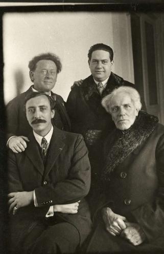 Willem Mengelberg, Darius Milhaud, Ernest Schelling, Ludwig Wüllner