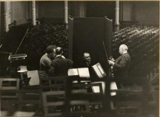 Willem Mengelberg, Ferdinand Helmann, Geza Anda, Louis Zimmerman, Concertgebouw Amsterdam