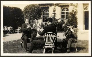 Willem Mengelberg, Ernest Schelling, Cornelis Dopper, Louis Arntzenius