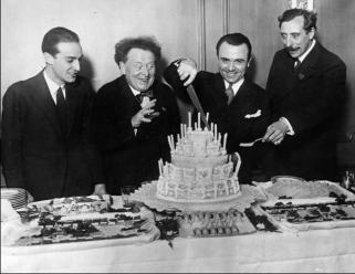 Willem Mengelberg, José Iturbi, Ernest Schelling, New York