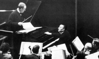 Willem Mengelberg, Sergei Rachmaninoff, oktober 1938
