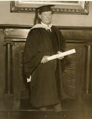 Willem Mengelberg Dr. h.c., Columbia University 1928