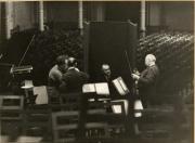 Willem Mengelberg, Ferdinand Hellman, Geza Anda, Louis Zimmerman, Concertgebouw Amsterdam