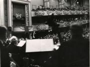 Willem Mengelberg dirigeert te Budapest, 1938. Nederlands Muziek Instituut