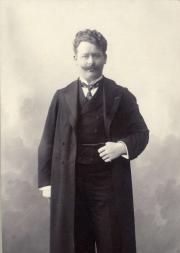 Willem Mengelberg rond 1900. Nederlands Muziek Instituut