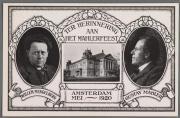 Herinnering aan het Mahlerfeest 1920
