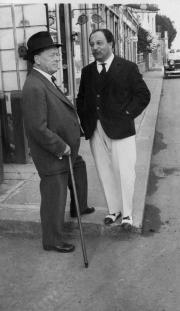 Willem Mengelberg en Pierre Monteux