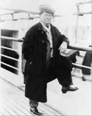 Willem Mengelberg op reis naar Amerika