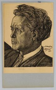 Willem Mengelberg door Jan Toorop, 1920