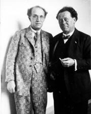 Franz Schreker, Willem Mengelberg