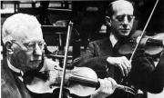 Concertmasters Louis Zimmerman, Ferdinand Hellman